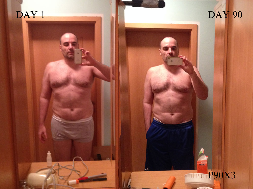 Results Before After After 90 Days P90X3