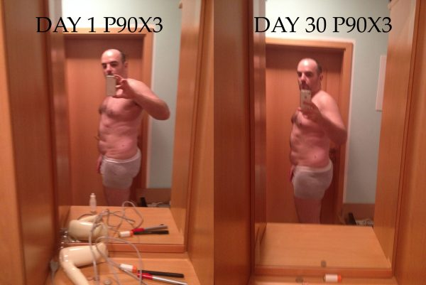 p90x3 after 30 days